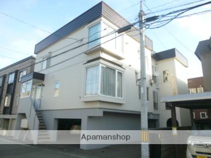 北海道札幌市中央区、桑園駅徒歩12分の築28年 3階建の賃貸アパート