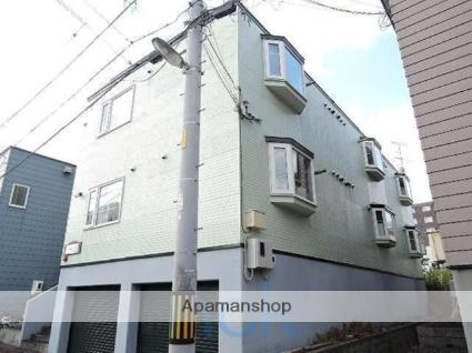 北海道札幌市中央区、石山通駅徒歩10分の築23年 3階建の賃貸アパート