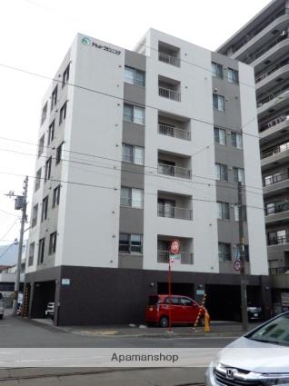 北海道札幌市中央区、西線6条駅徒歩8分の築3年 7階建の賃貸マンション