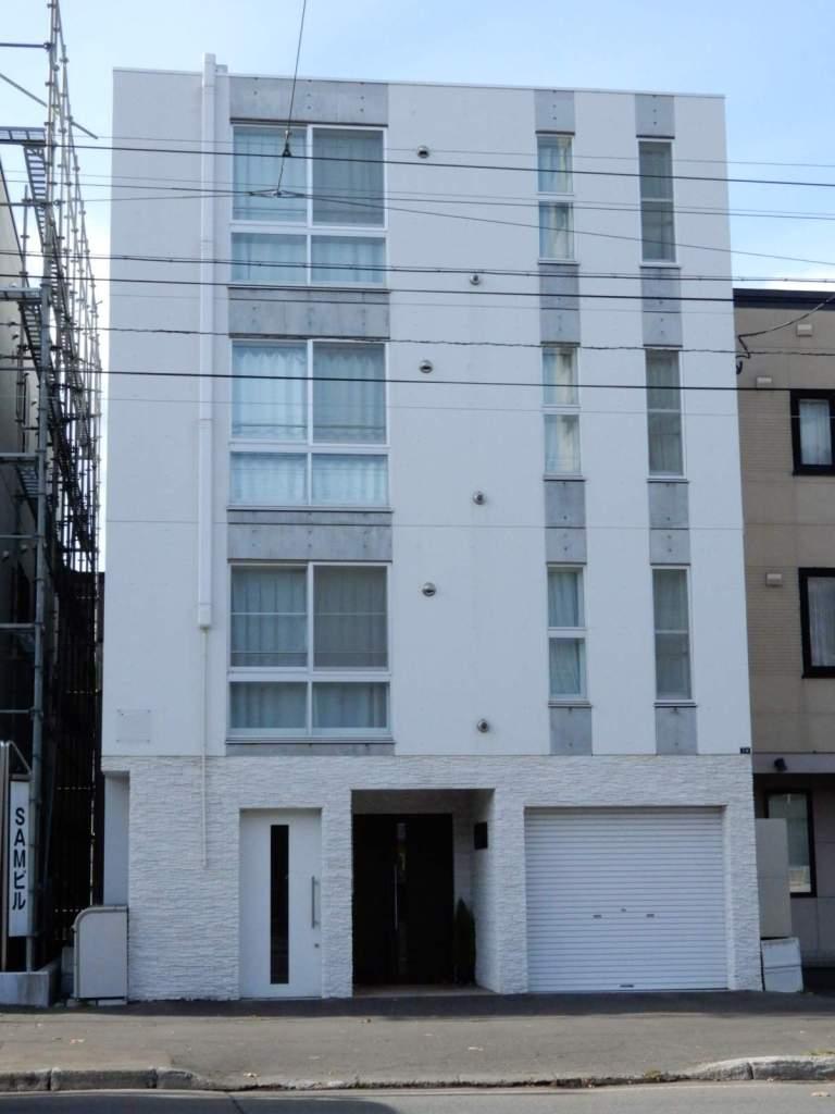 北海道札幌市中央区、西線14条駅徒歩4分の築2年 4階建の賃貸マンション