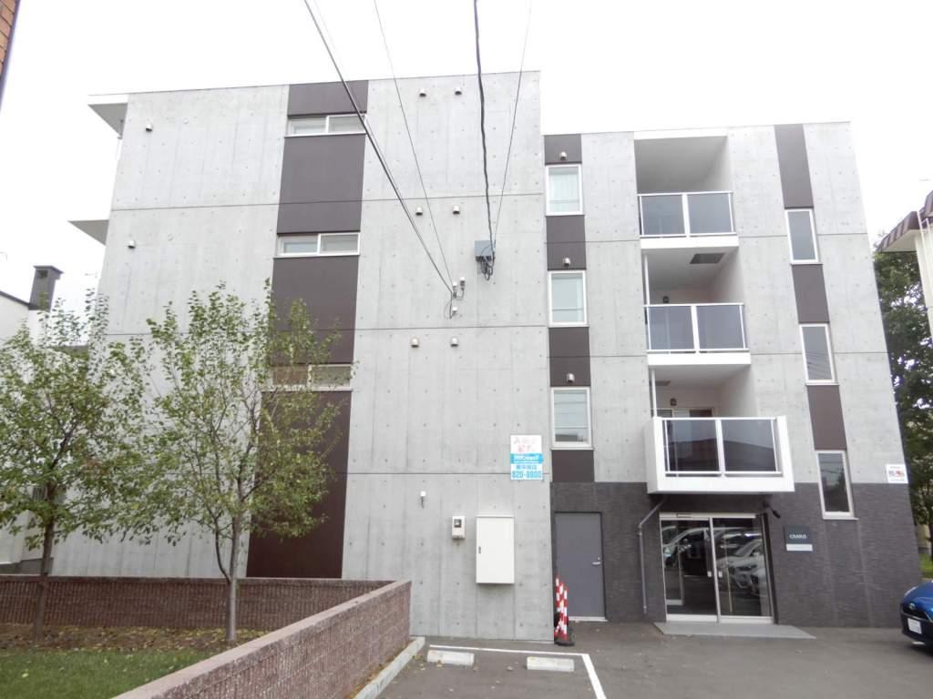 北海道札幌市中央区、円山公園駅徒歩20分の築1年 4階建の賃貸マンション