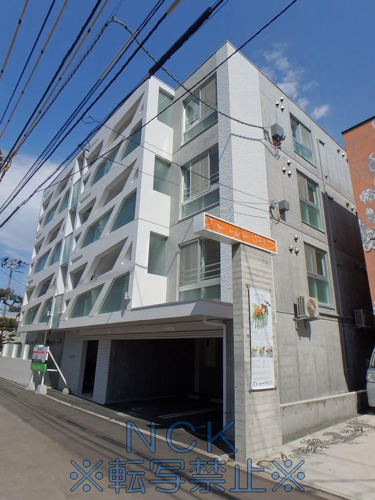 北海道札幌市中央区、二十四軒駅徒歩16分の新築 4階建の賃貸マンション