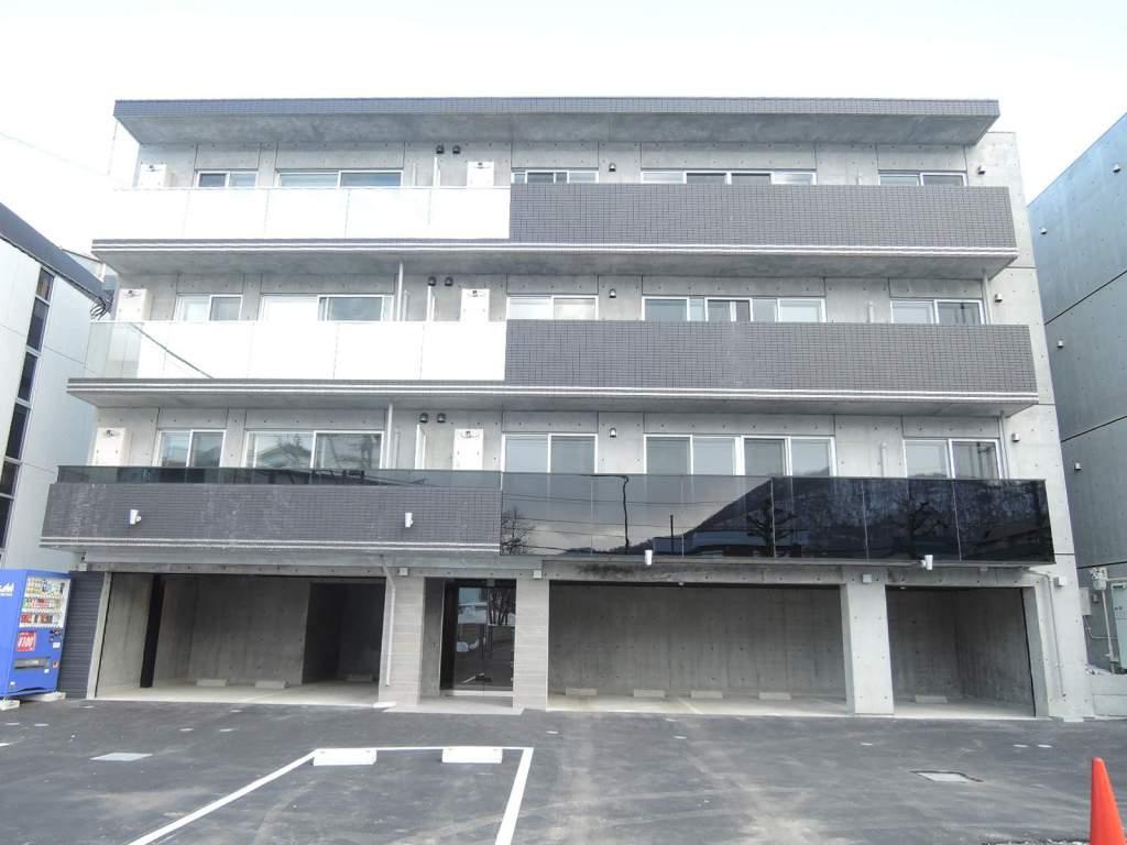 北海道札幌市中央区、東屯田通駅徒歩5分の新築 4階建の賃貸マンション