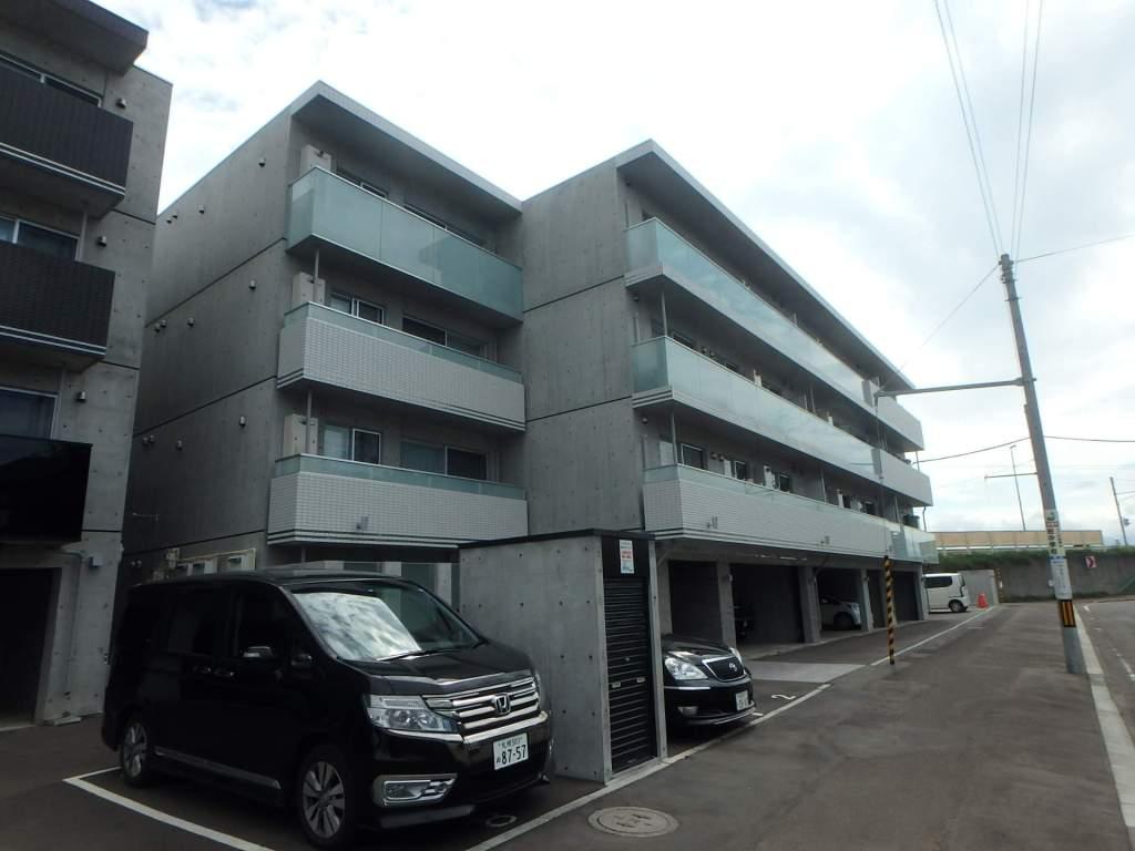 北海道札幌市中央区、東屯田通駅徒歩7分の新築 4階建の賃貸マンション