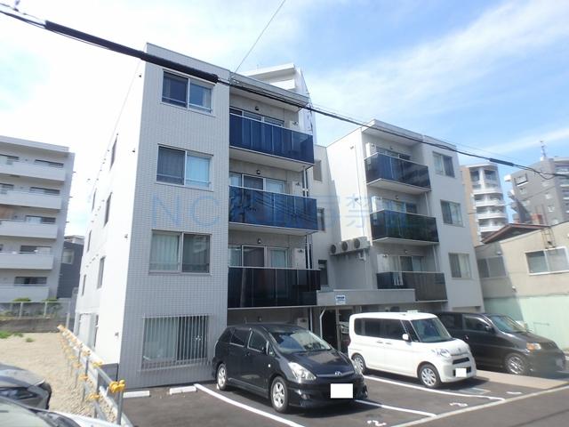 北海道札幌市中央区、二十四軒駅徒歩19分の新築 4階建の賃貸マンション