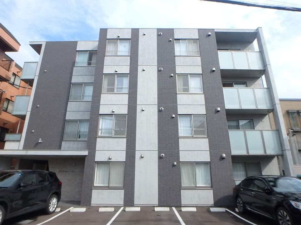北海道札幌市中央区、二十四軒駅徒歩20分の新築 4階建の賃貸マンション