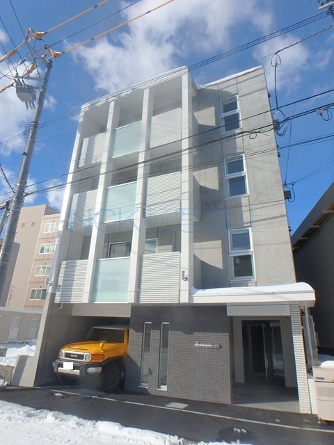 北海道札幌市中央区、二十四軒駅徒歩9分の新築 4階建の賃貸マンション