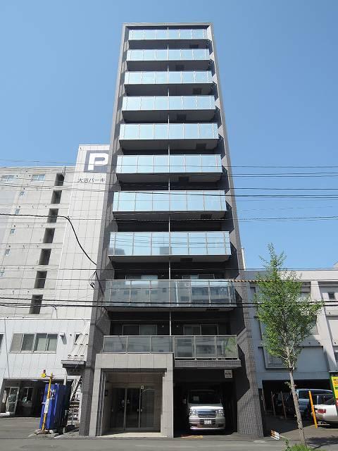 北海道札幌市中央区、札幌駅徒歩6分の築3年 11階建の賃貸マンション