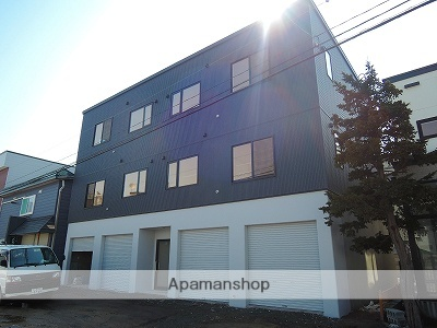 北海道札幌市中央区、東屯田通駅徒歩6分の築2年 3階建の賃貸アパート