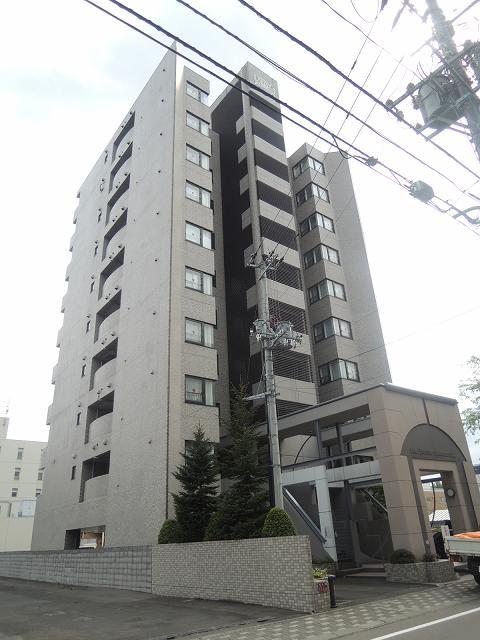 北海道札幌市中央区、桑園駅徒歩12分の築25年 10階建の賃貸マンション
