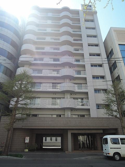 北海道札幌市中央区、西18丁目駅徒歩1分の築30年 11階建の賃貸マンション