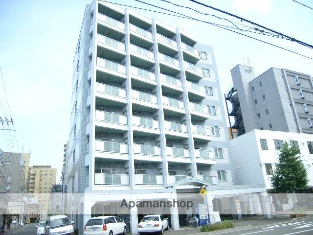 北海道札幌市中央区、桑園駅徒歩12分の築26年 8階建の賃貸マンション
