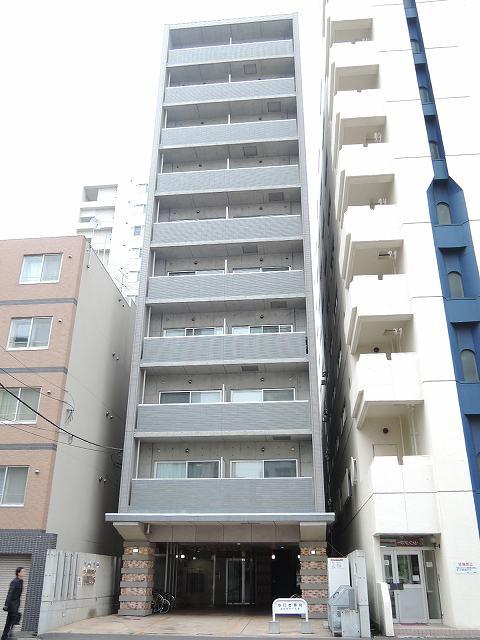北海道札幌市中央区、札幌駅徒歩8分の築13年 10階建の賃貸マンション