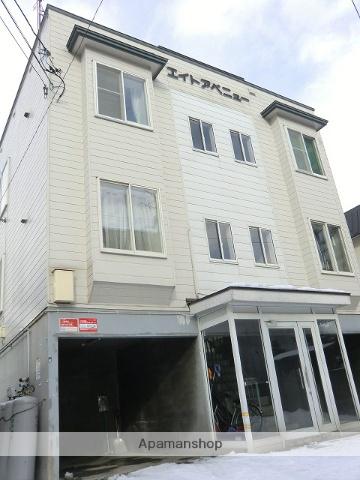 北海道札幌市中央区、バスセンター前駅徒歩6分の築30年 3階建の賃貸アパート