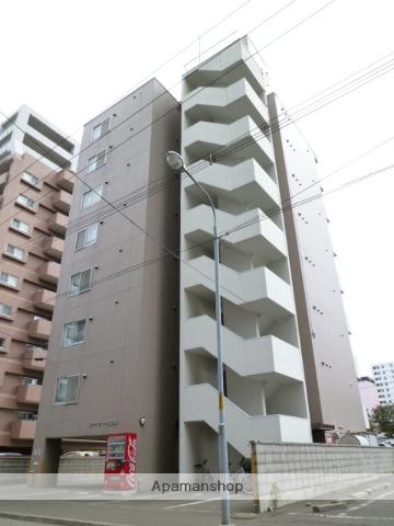 北海道札幌市中央区、西28丁目駅徒歩12分の築21年 8階建の賃貸マンション