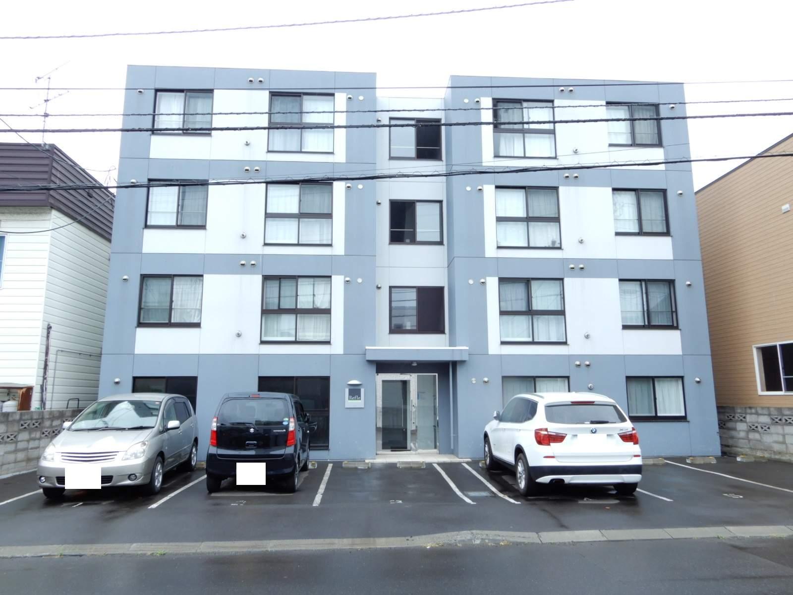 北海道札幌市西区、宮の沢駅徒歩9分の築3年 4階建の賃貸マンション