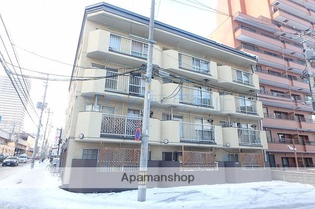 北海道札幌市西区、琴似駅徒歩3分の築40年 4階建の賃貸マンション