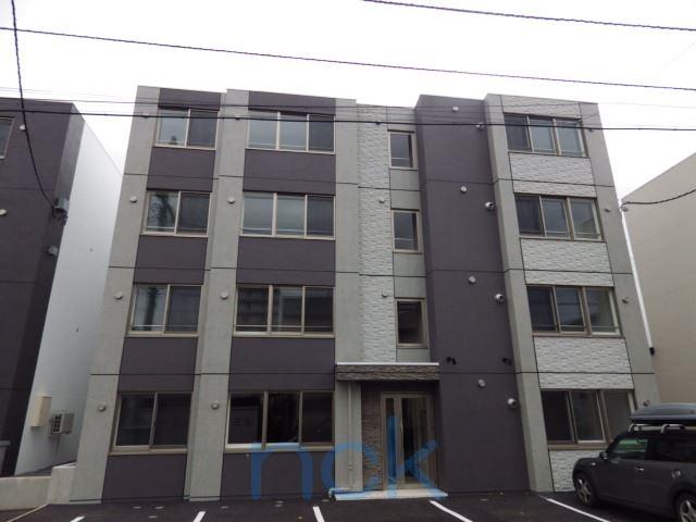 北海道札幌市西区、琴似駅徒歩18分の築2年 4階建の賃貸マンション