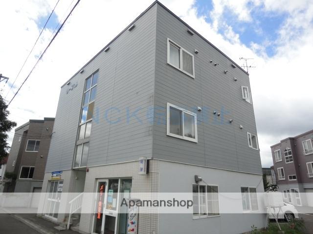 北海道札幌市西区、発寒中央駅徒歩4分の築25年 3階建の賃貸アパート