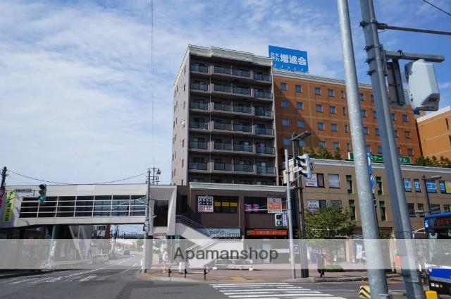 北海道札幌市手稲区、手稲駅徒歩1分の築15年 9階建の賃貸マンション