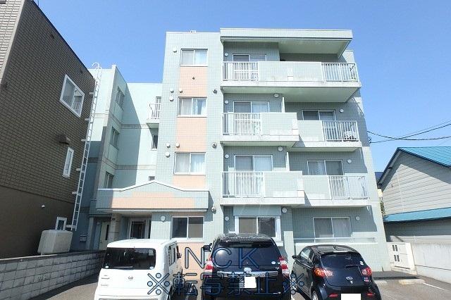 北海道札幌市西区、琴似駅徒歩7分の築14年 4階建の賃貸マンション