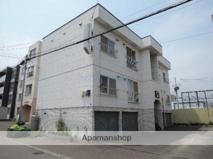 北海道札幌市西区、発寒駅徒歩12分の築31年 2階建の賃貸アパート