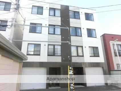 北海道札幌市西区、琴似駅徒歩11分の築7年 4階建の賃貸マンション