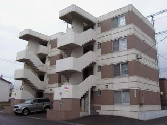 北海道札幌市中央区、二十四軒駅徒歩19分の築21年 4階建の賃貸マンション