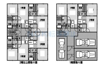 ベルフルール琴似[1LDK/29.15m2]の配置図