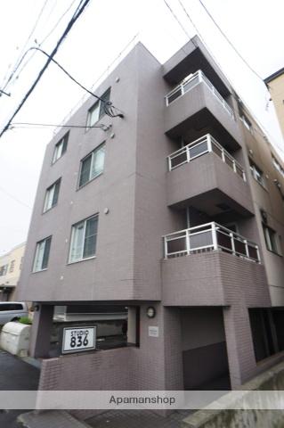 北海道札幌市西区、発寒駅徒歩12分の築11年 4階建の賃貸マンション