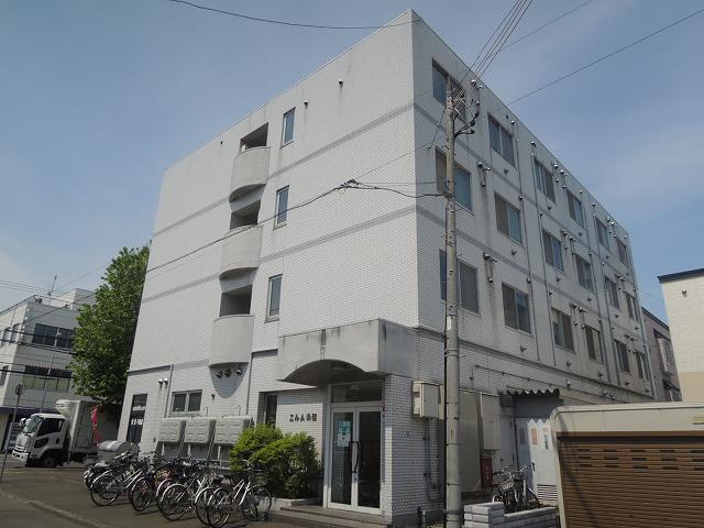 北海道札幌市中央区、桑園駅徒歩11分の築30年 4階建の賃貸マンション