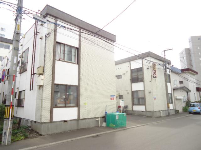 北海道札幌市中央区、西28丁目駅徒歩2分の築33年 2階建の賃貸アパート