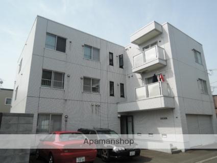 北海道札幌市中央区、西28丁目駅徒歩15分の築26年 3階建の賃貸マンション