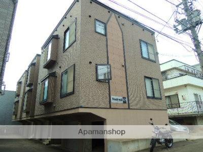 北海道札幌市中央区、二十四軒駅徒歩7分の築14年 3階建の賃貸アパート