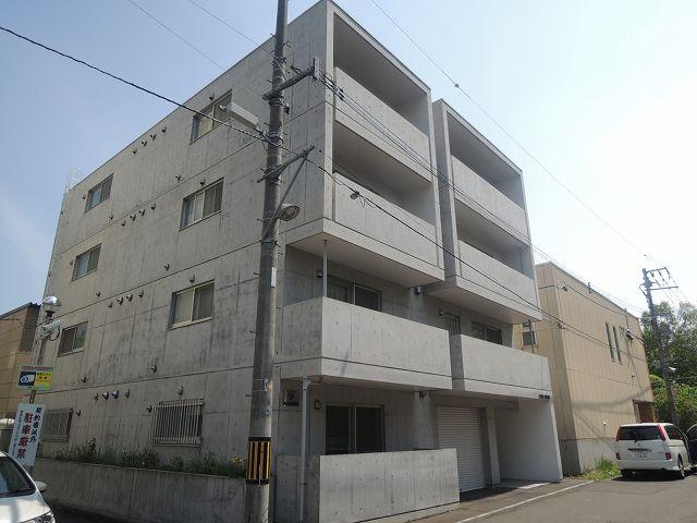 北海道札幌市中央区、桑園駅徒歩14分の築9年 4階建の賃貸マンション