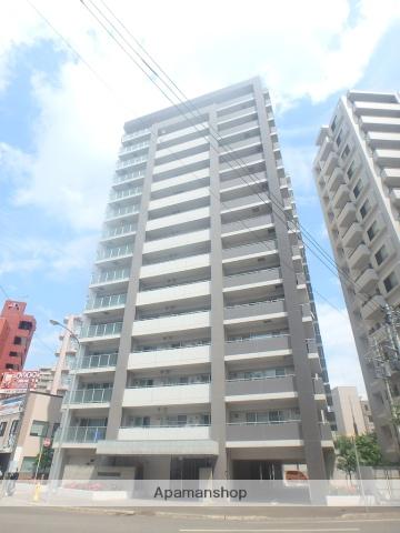 北海道札幌市中央区、二十四軒駅徒歩13分の築9年 15階建の賃貸マンション
