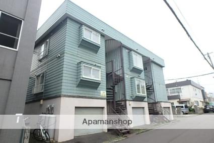 北海道札幌市西区、琴似駅徒歩17分の築31年 3階建の賃貸アパート