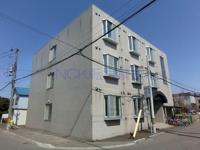 北海道札幌市西区、琴似駅徒歩14分の築22年 3階建の賃貸マンション