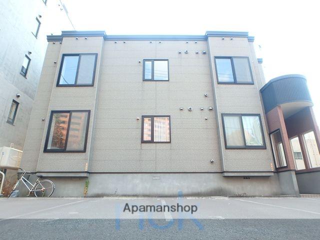 北海道札幌市中央区、札幌駅徒歩11分の築16年 2階建の賃貸アパート