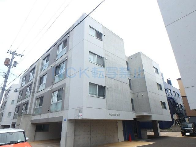 北海道札幌市中央区、桑園駅徒歩8分の築14年 4階建の賃貸マンション