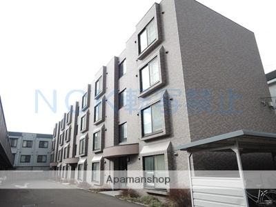 北海道札幌市西区、琴似駅徒歩5分の築14年 4階建の賃貸マンション
