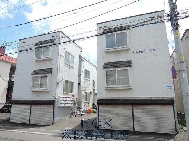 北海道札幌市西区、八軒駅徒歩9分の築32年 3階建の賃貸アパート