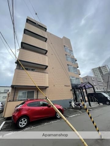 北海道札幌市西区、発寒中央駅徒歩16分の築25年 5階建の賃貸マンション