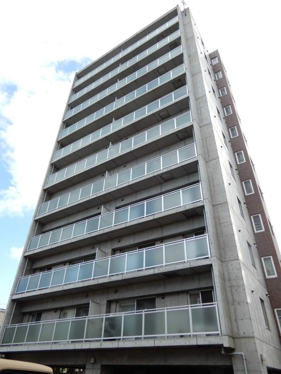 北海道札幌市西区、発寒駅徒歩14分の築7年 11階建の賃貸マンション