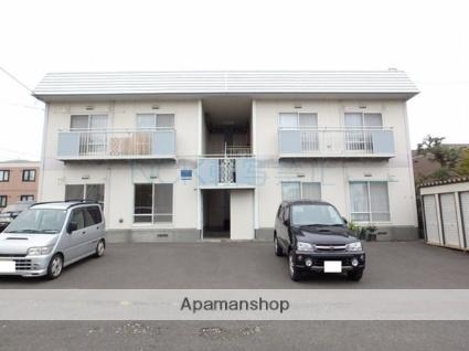 北海道札幌市西区、宮の沢駅徒歩17分の築31年 2階建の賃貸アパート