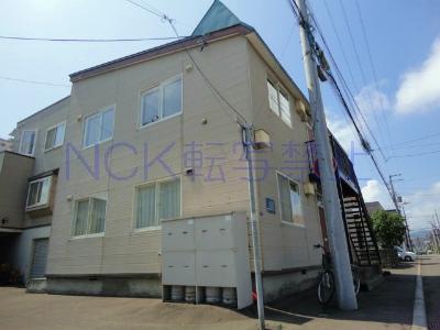 北海道札幌市西区、琴似駅JR北海道バスバス10分八軒8条東4丁目下車後徒歩5分の築25年 2階建の賃貸アパート