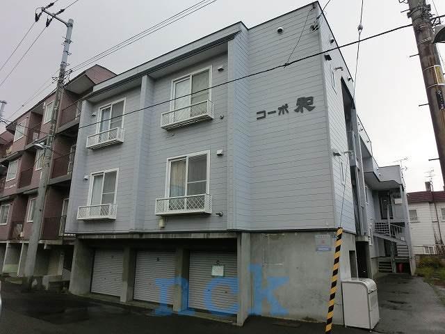 北海道札幌市西区、琴似駅徒歩9分の築29年 3階建の賃貸アパート
