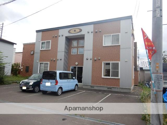 北海道札幌市西区、八軒駅徒歩7分の築13年 2階建の賃貸アパート