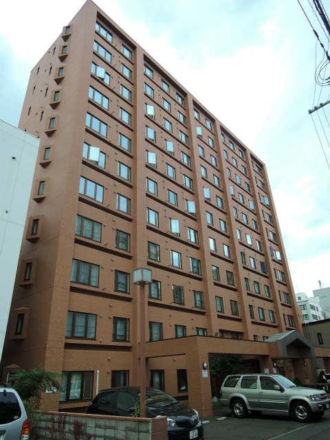 北海道札幌市中央区、円山公園駅徒歩10分の築27年 11階建の賃貸マンション