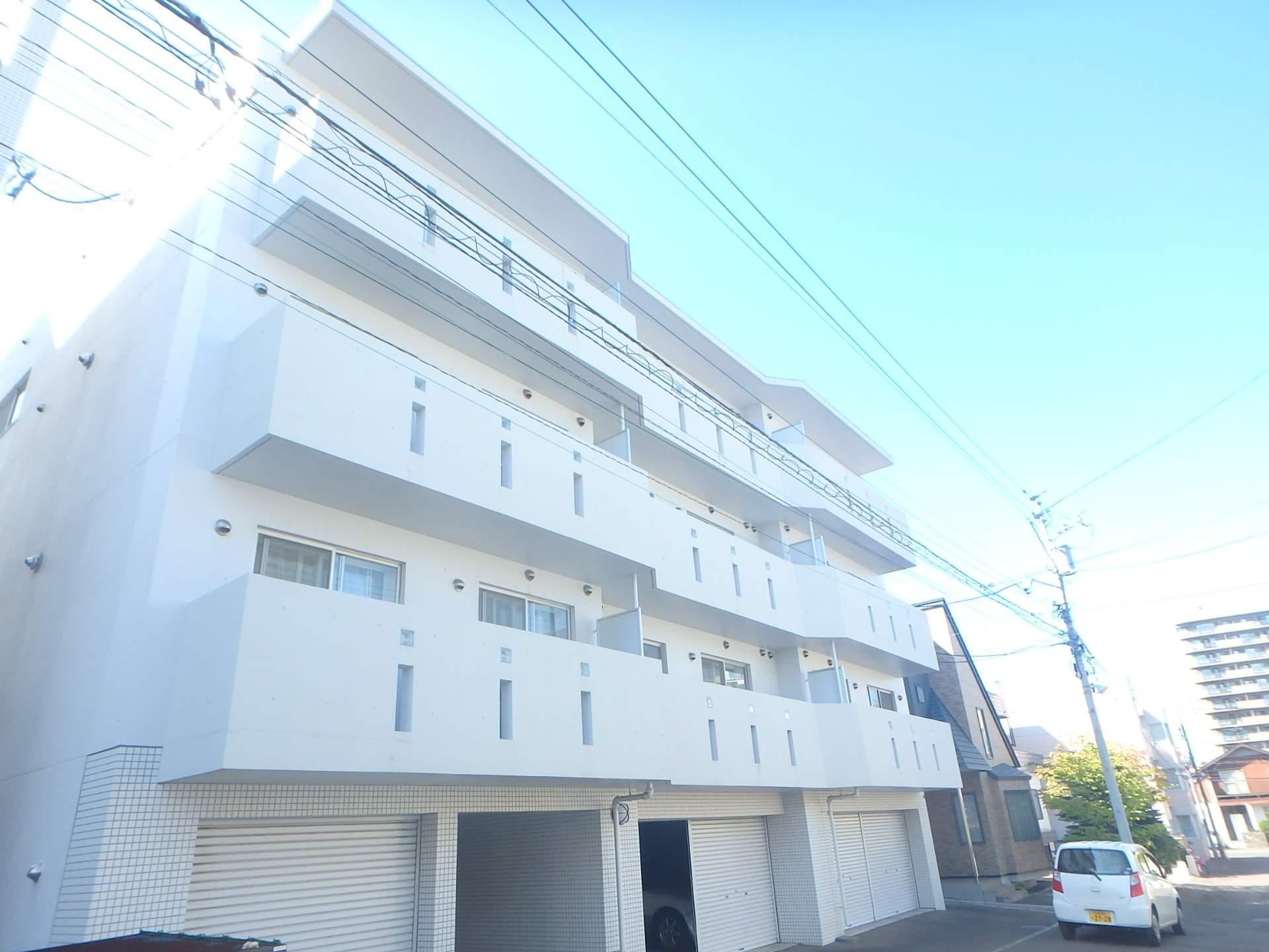 北海道札幌市中央区、二十四軒駅徒歩18分の築11年 4階建の賃貸マンション